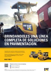 Caterpillar advert Carreteras 1er tri 2016