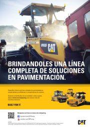 Caterpillar advert Carreteras 1er tri 2016