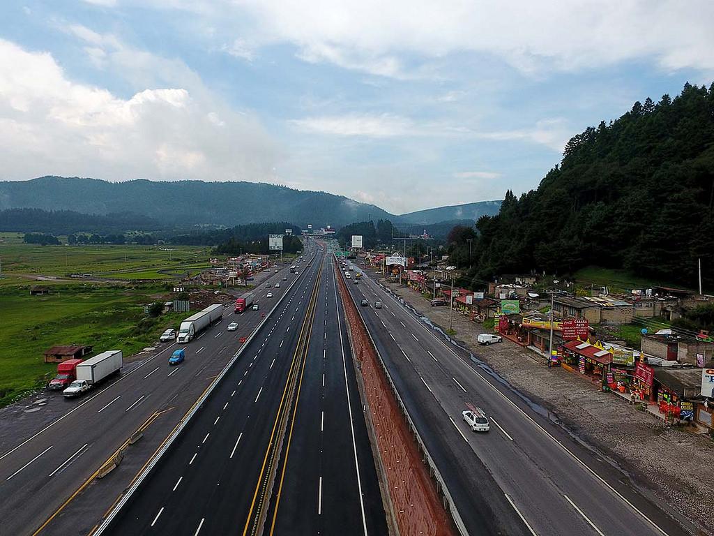 El Gobierno mexicano anuncia más obras en la vía Toluca-La