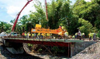 Un nuevo proceso de pavimentación en Panamá