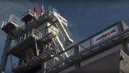 La planta Unibatch 240 de Ammann se eleva sobre CONEXPO-CON/AGG
