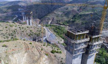 Doka colabora en un viaducto espectacular en Turquía