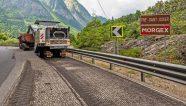 Una fresadora Witgen se desempeña en los Alpes