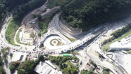 Guatemala inaugura paso a desnivel Cuatro Caminos