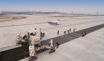 Wirtgen pavimenta el aeropuerto del futuro