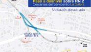 Costa Rica adjudicó paso a desnivel para La Galera por USD 3.5 millones