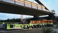 Scheuerle transporta un puente de 130 metros
