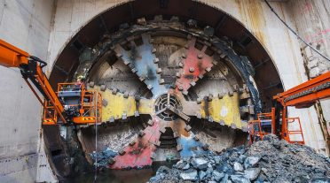 Construyen un túnel de última generación en Holanda