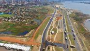 Paraguay inicia segunda etapa del parque lineal de la Costanera II