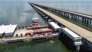 Mammoet instala un viaducto en Nueva Orleans