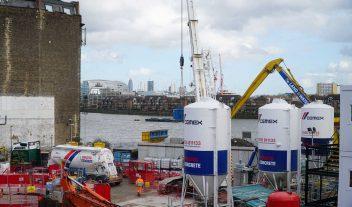 Cemex presente en el proyecto de drenaje más grande del Reino Unido