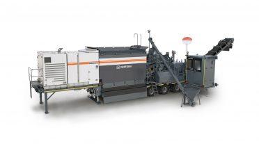 Nueva planta mezcladora móvil para el reciclado en frío de Wirtgen