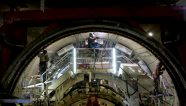 Gigantes bajo tierra construyen el Metro de Quito