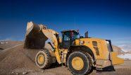 Las nuevas palas de ruedas Cat® 980 y 982 ofrecen un óptimo rendimiento