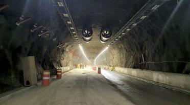 Nueva ruta: Túnel El Melón II en Chile